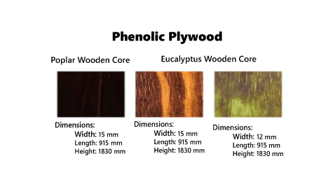 Phenolic Plywood Samples
